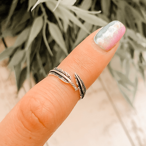Midi Ring Pluma Envolvente