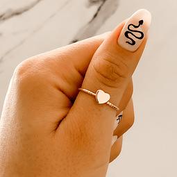 Anillo Corazón Gold