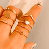 Anillo Corona Minimal Gold
