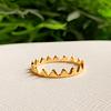 Anillo Corona Queen Gold