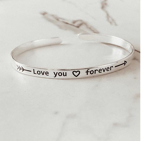 """Brazalete """"Love you Forever"""""""