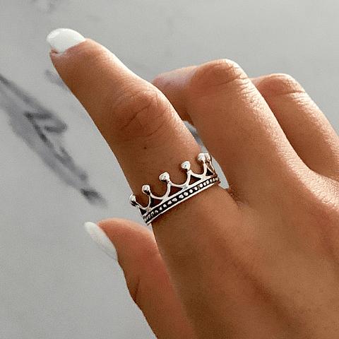 Anillo Corona Queen