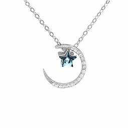 Collar Luna y Estrella sublime shine