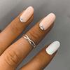 Anillo Midi Ring Entrelazado Boho
