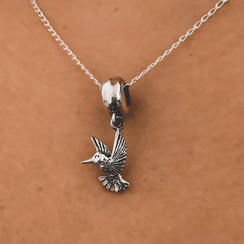 Collar Pájaro colibrí