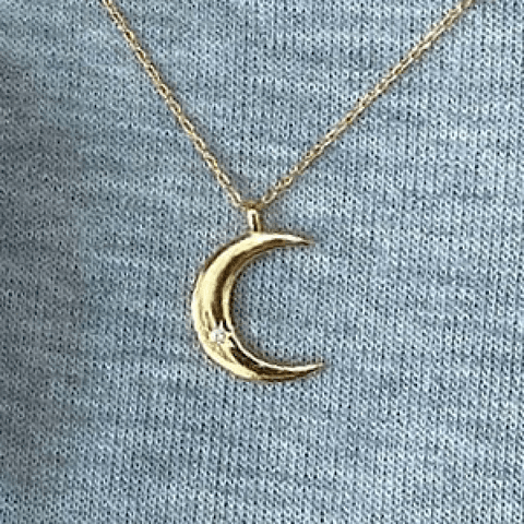Collar Luna Boho Gold