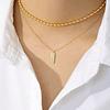 Collar Tres Marias Minimal Gold