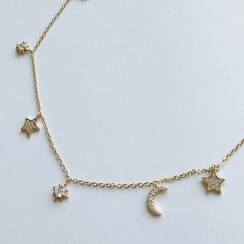 Collar Estrellas Girl Power