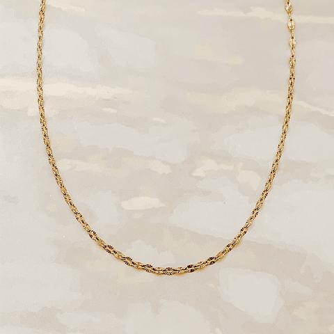 Collar Monedas Shine NY Gold