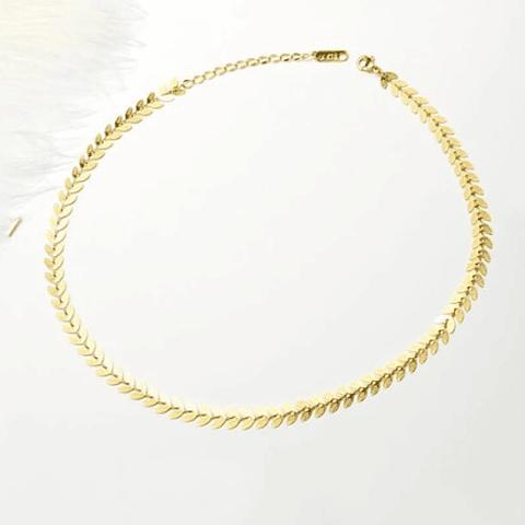 Choker Espiga Greek Gold
