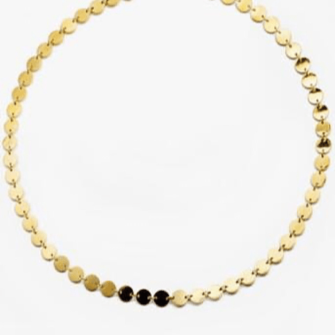 Collar - Choker  Monedas Greek Gold