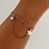 Pulsera Estrellas Rebel Gold