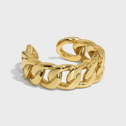 Anillo Cadenas Chunki Gold