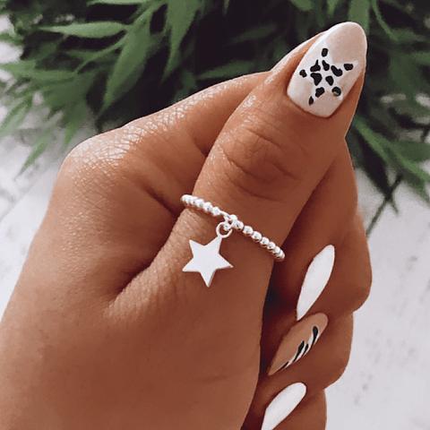 Anillo anti estrés Estrella de los Milagros