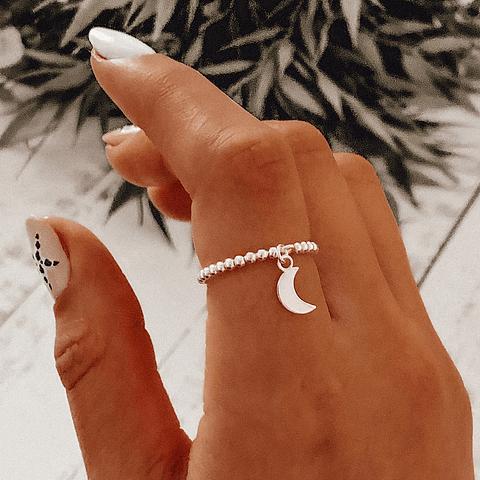 Anillo anti estrés Luna Protectora