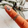 Anillo Midi Ring Trenzado boho