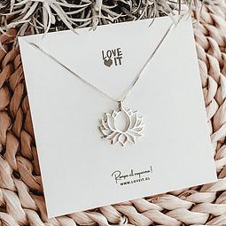 Collar Flor de Loto Sublime (Hand Made)