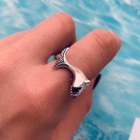 Anillo Tiburón Blanco