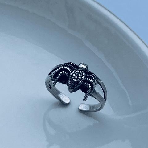 Anillo Midi Ring Arañita Bebe