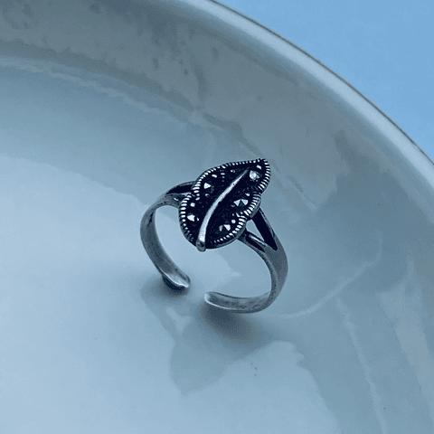 Anillo Midi Ring Hojita Magica