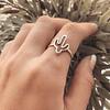 Anillo Cactus Minimalista
