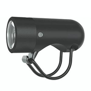 Luz de bicicleta plug front black