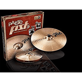 PACK ESENCIAL PST5 PACK ESENCIAL HI HAT 14 + CRASH RIDE 18 PAISTE