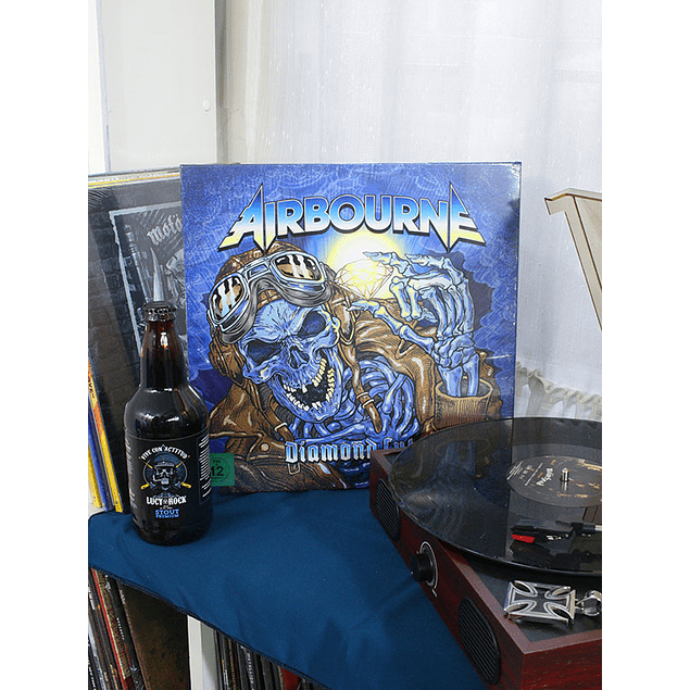 AIRBOURNE DIAMOND CUTS -DELUXE- 4LP+DVD