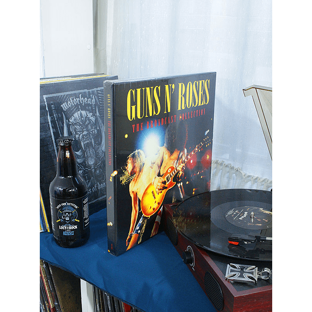 GUNS'N ROSES THE BROADCAST COLLECTION BOX SET