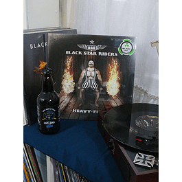 BLACK STARS RIDERS HEAVY FIRE BLACK VINYL