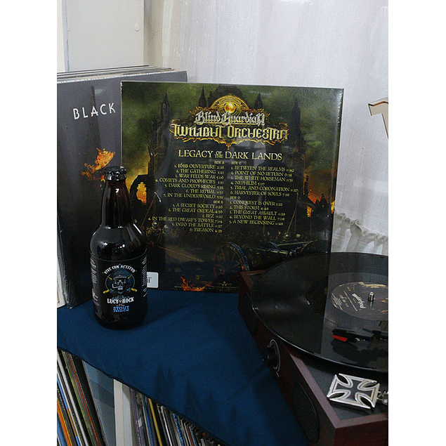 VINILO BLIND GUARDIAN TWILIGHT ORCHESTRA LEGACY OF THE DARK LAND