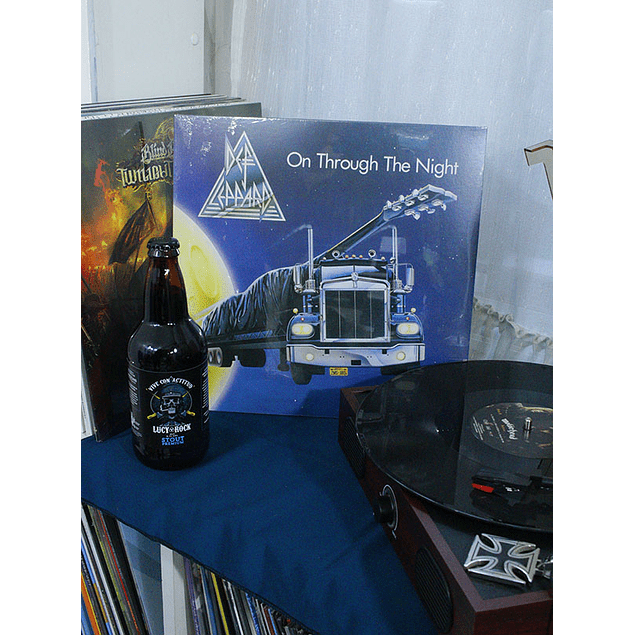 VINILO DEF LEPPARD ON THROUGH THE NIGHT REMASTERED 2018
