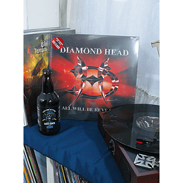 VINILO DIAMOND HEAD ALL WILL BE REVEALED