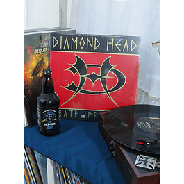 VINILO DIAMOND HEAD DEATH AND PROGRESS