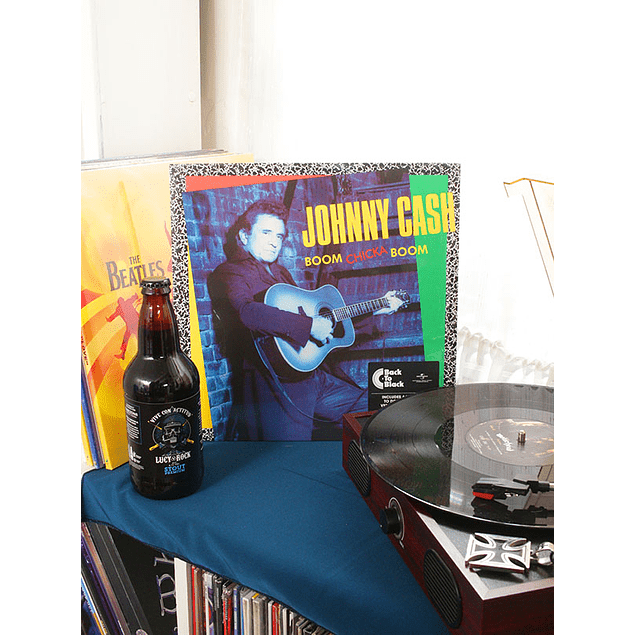 VINILO JOHNNY CASH BOOM CHICKA BOOM REMASTERED