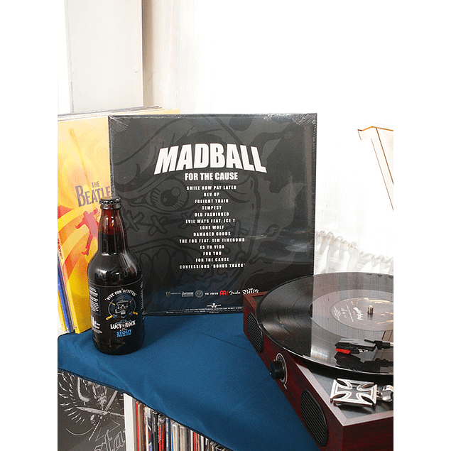 VINILO MADBALL FOR THE CAUSE
