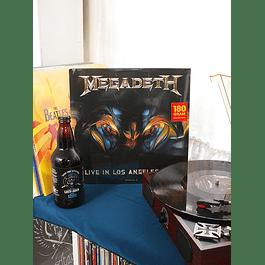 VINILO MEGADETH LIVE IN LOS ANGELES 1995