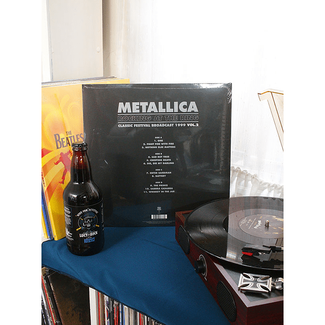 VINILO METALLICA ROCKING AT THE RING VOL 2