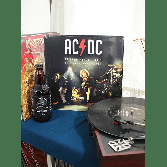 VINILO AC/DC VETERANS MEMORIALS 1978