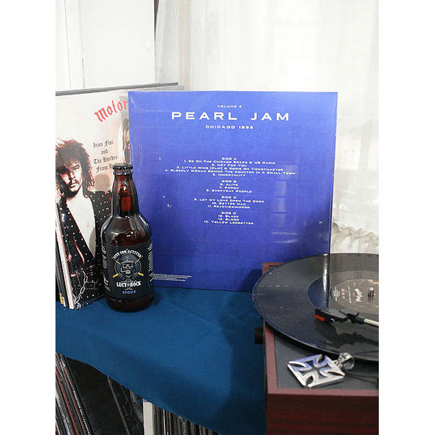 VINILO PEARL JAM CHICAGO 1995 VOL2