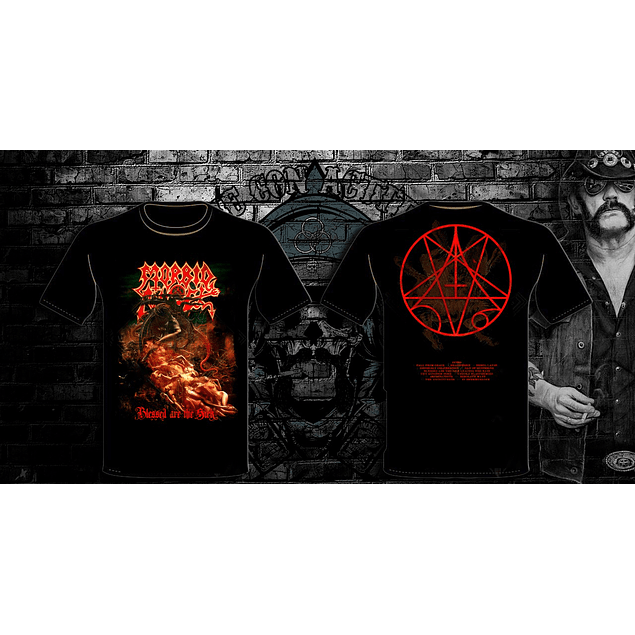POLERA MORBID ANGEL BLESSED ARE THE SICK