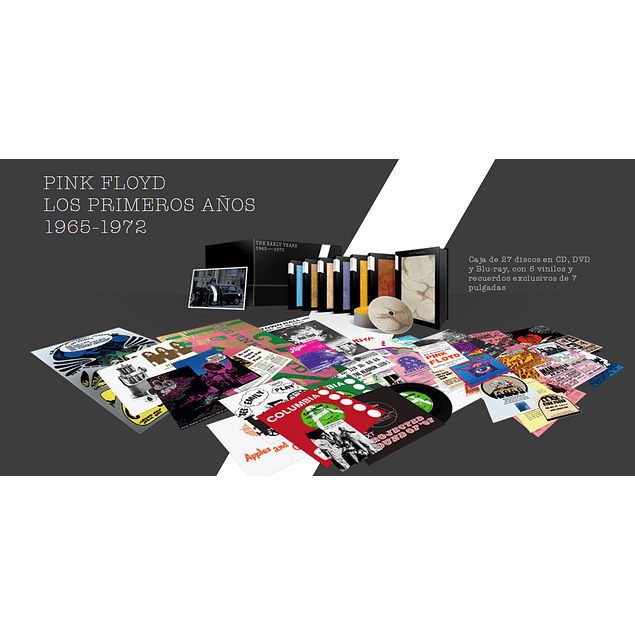 BOX SET EARLY YEARS 1967 - 1972 PINK FLOYD (LIMITED)