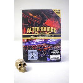 BLU RAY ALTER BRIDGE LIVE AT THE ROYAL ALBERT HALL FT THE PARRAL