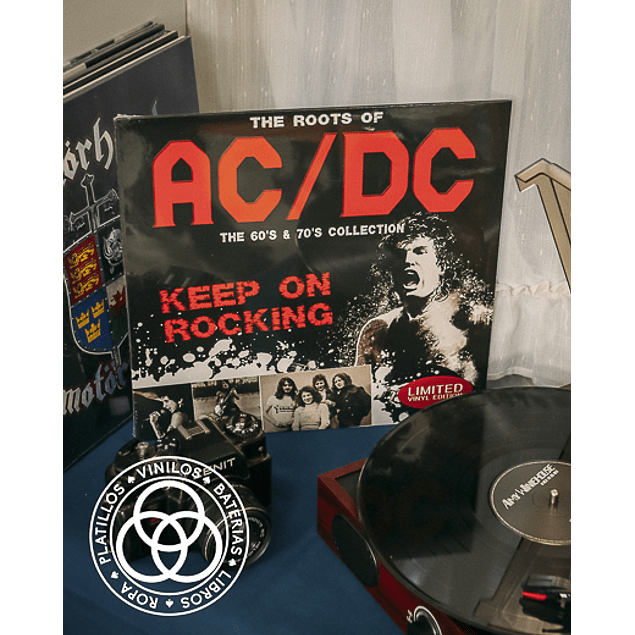Vinilo ACDC The Roots Of