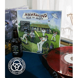 Vinilo Hawkwind Road To Utopia
