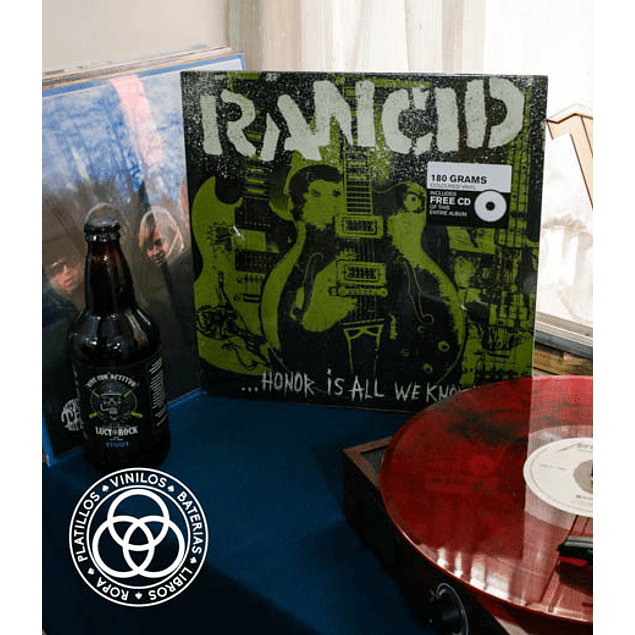 Vinilo Rancid Honor Is All We Know
