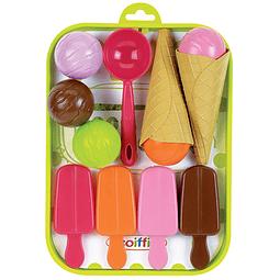 Bandeja set de helados 12pz