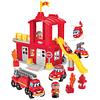 Abrick, Estación de bomberos con accesorios 14pz