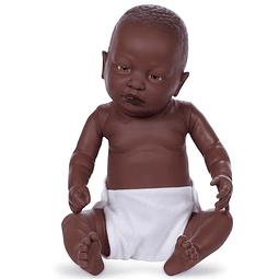 Newborn niño africano 52cm