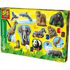 MODELAR Y PINTAR ANIMALES Cod. 1132